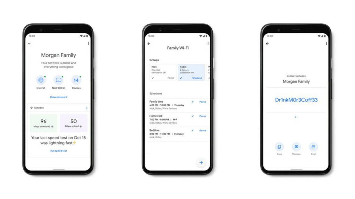 Nest Wifi Setup Google Home app