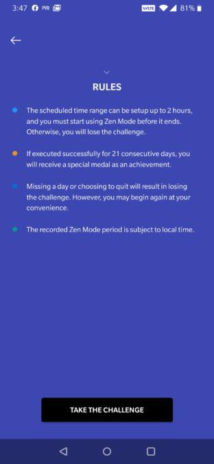 OnePlus Zen Mode Update 21 day challenge 2
