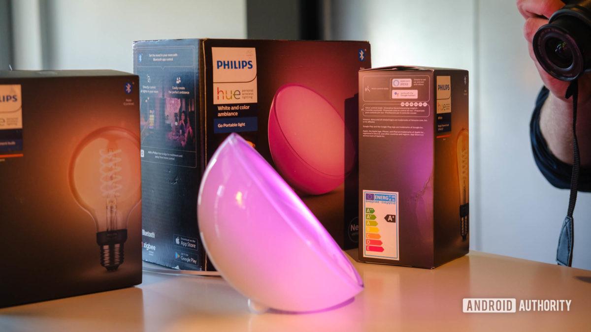 Phillips Hue Go portable light 2019 box