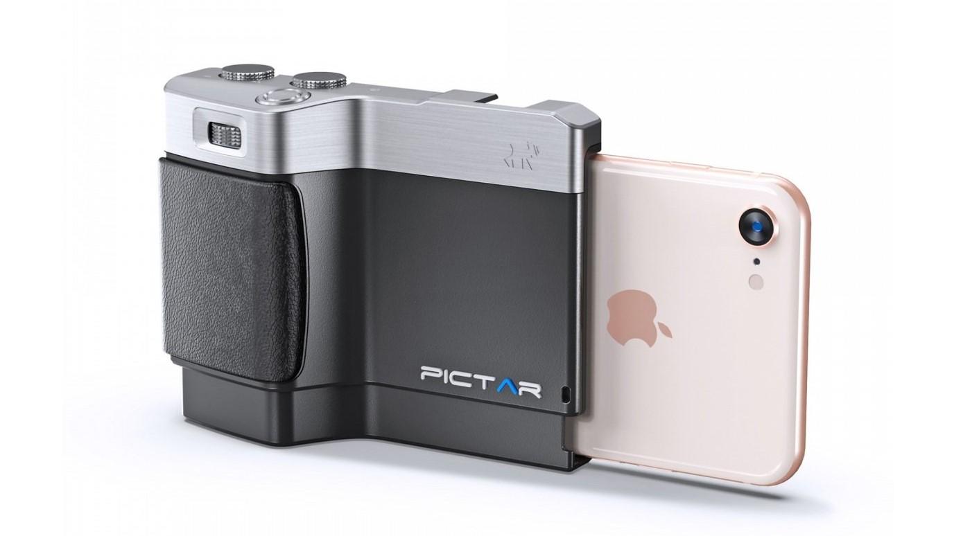Pictar Mark II Csmartphone camera grip