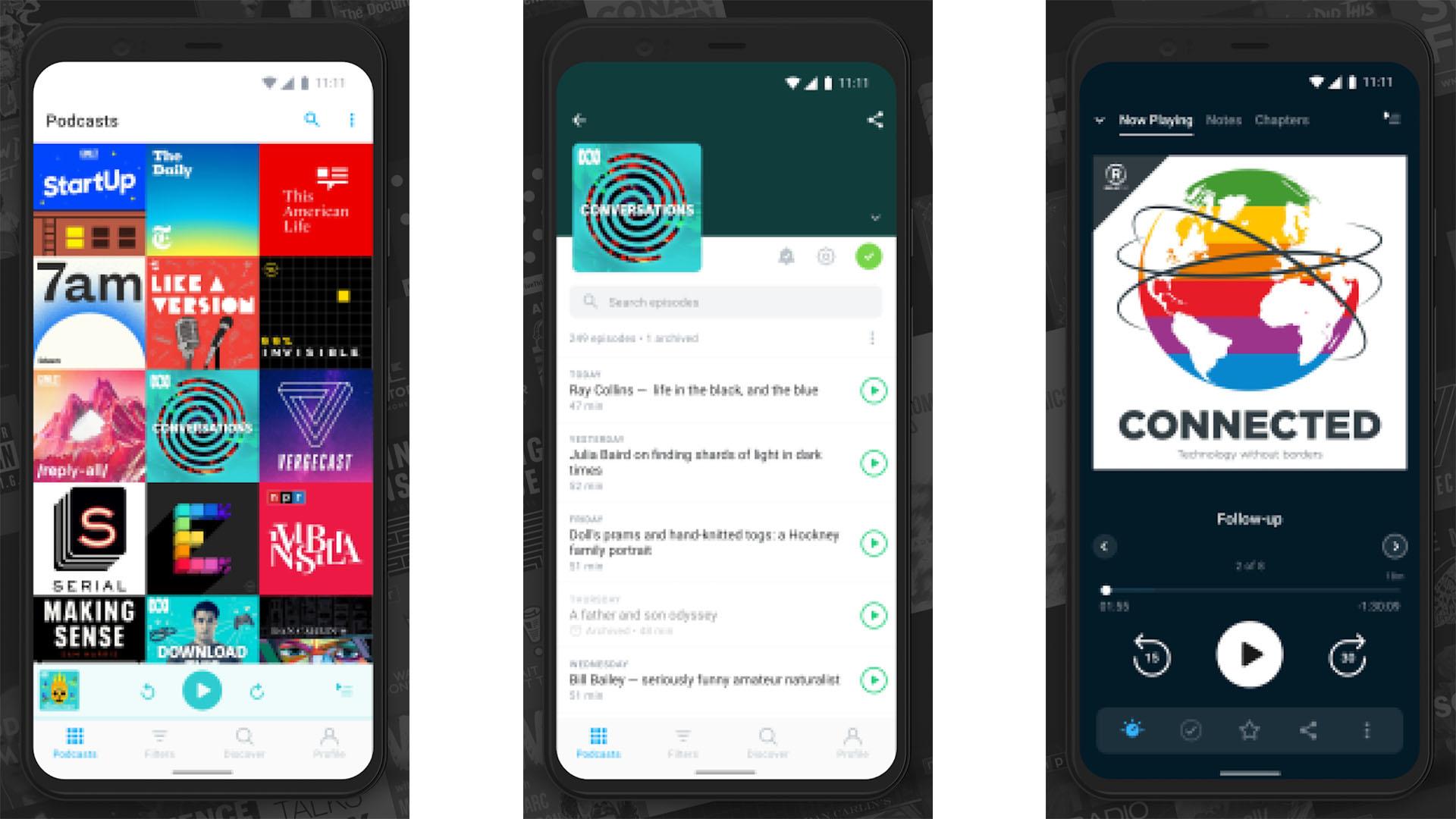 Pocket Casts screenshot 2020