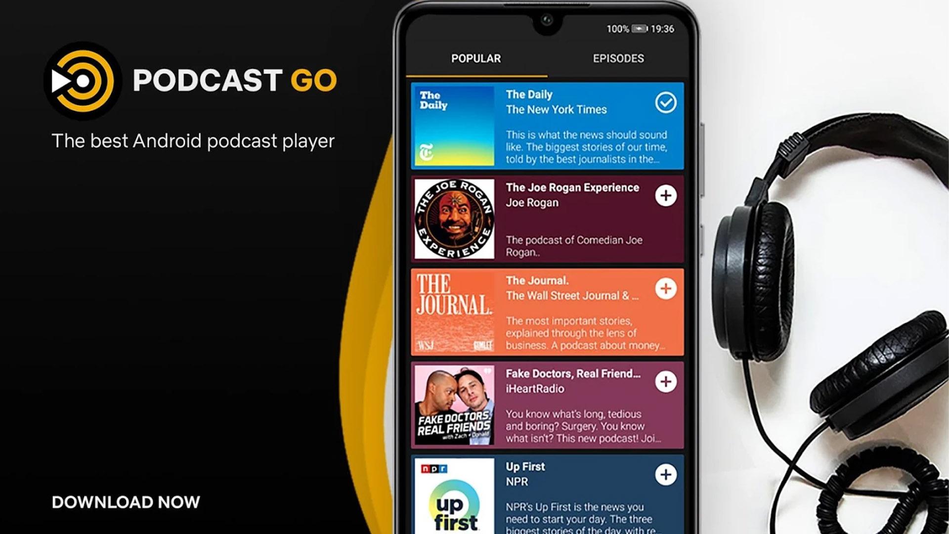 Podcast Go screenshot