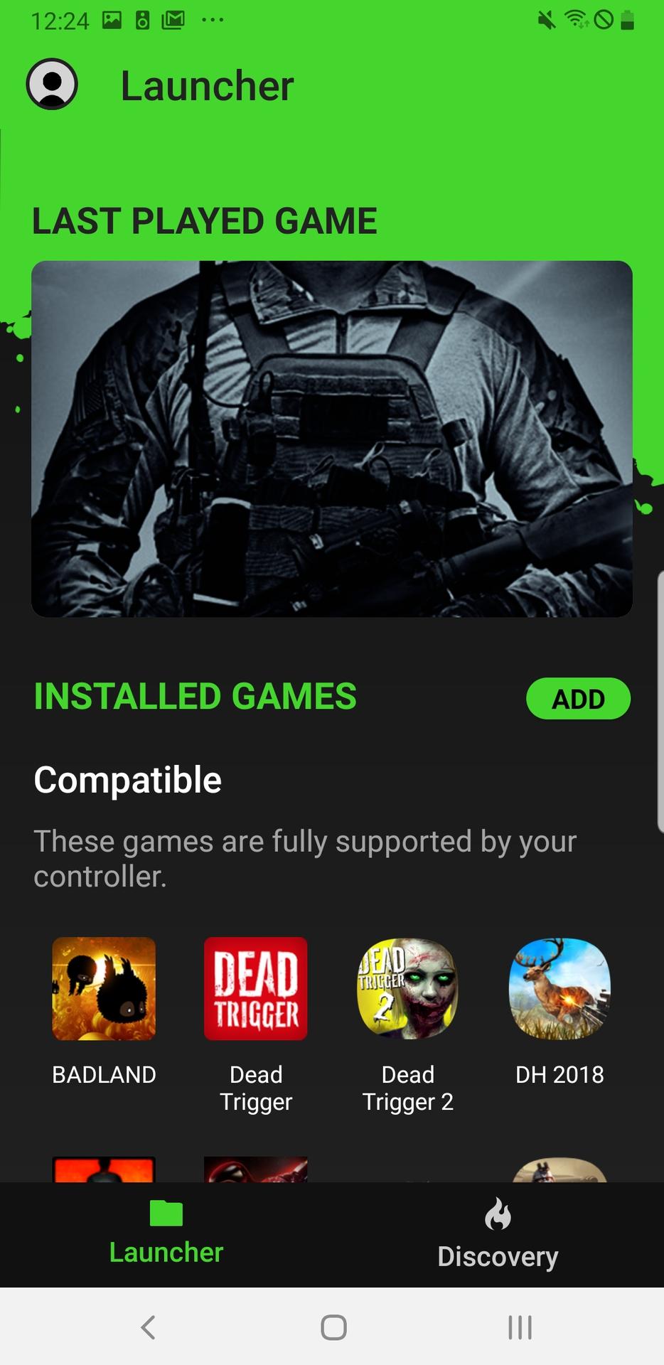Razer Gamepad app