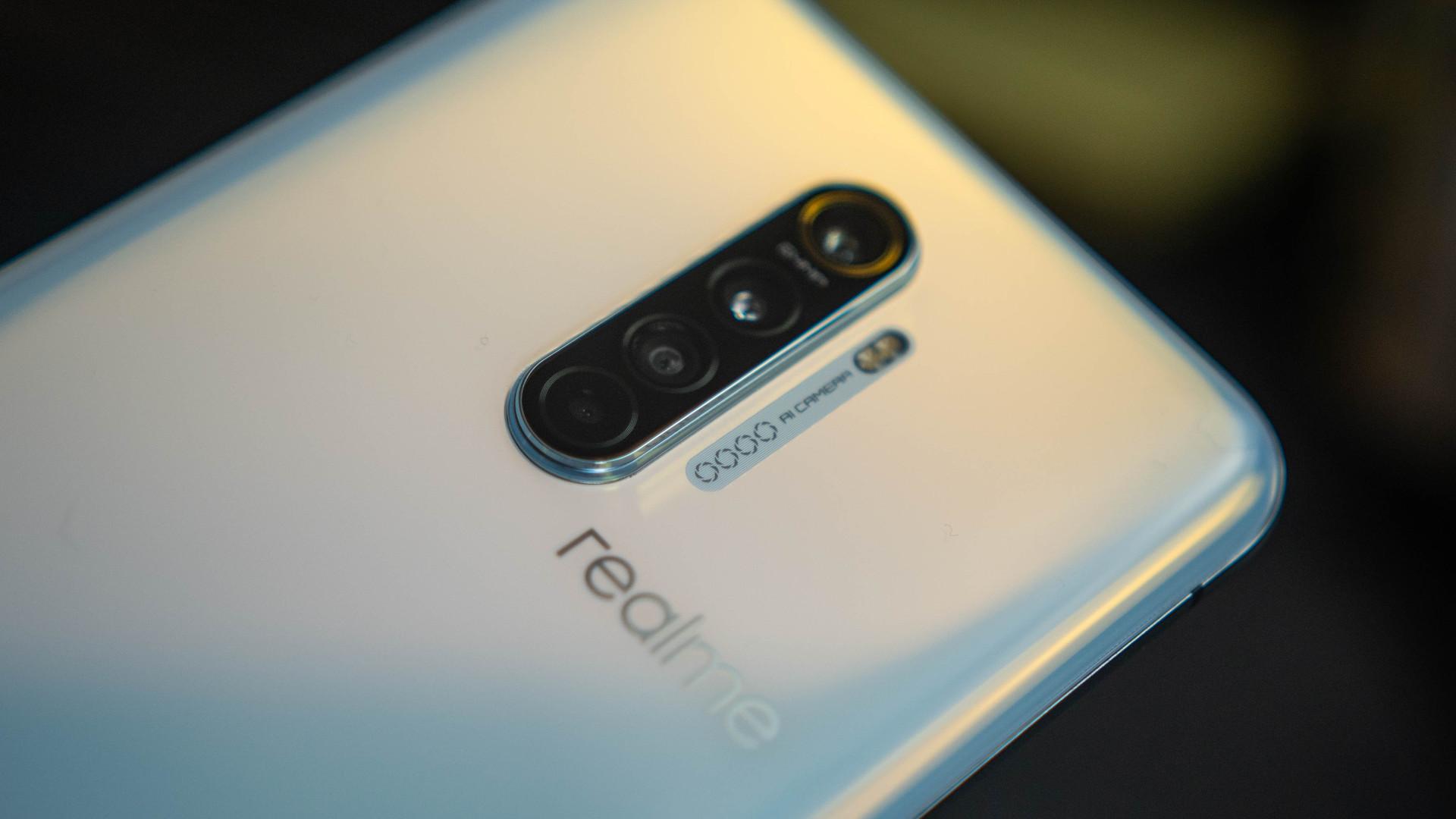 Realme X2 Pro rear quad camera assembly 1