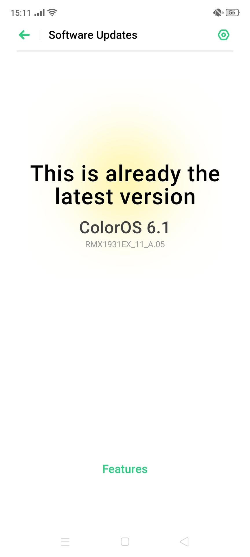 Realme X2 Pro software Color OS version