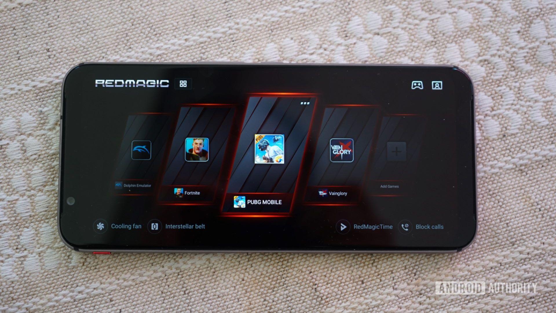 Red Magic 3S game mode 16x9