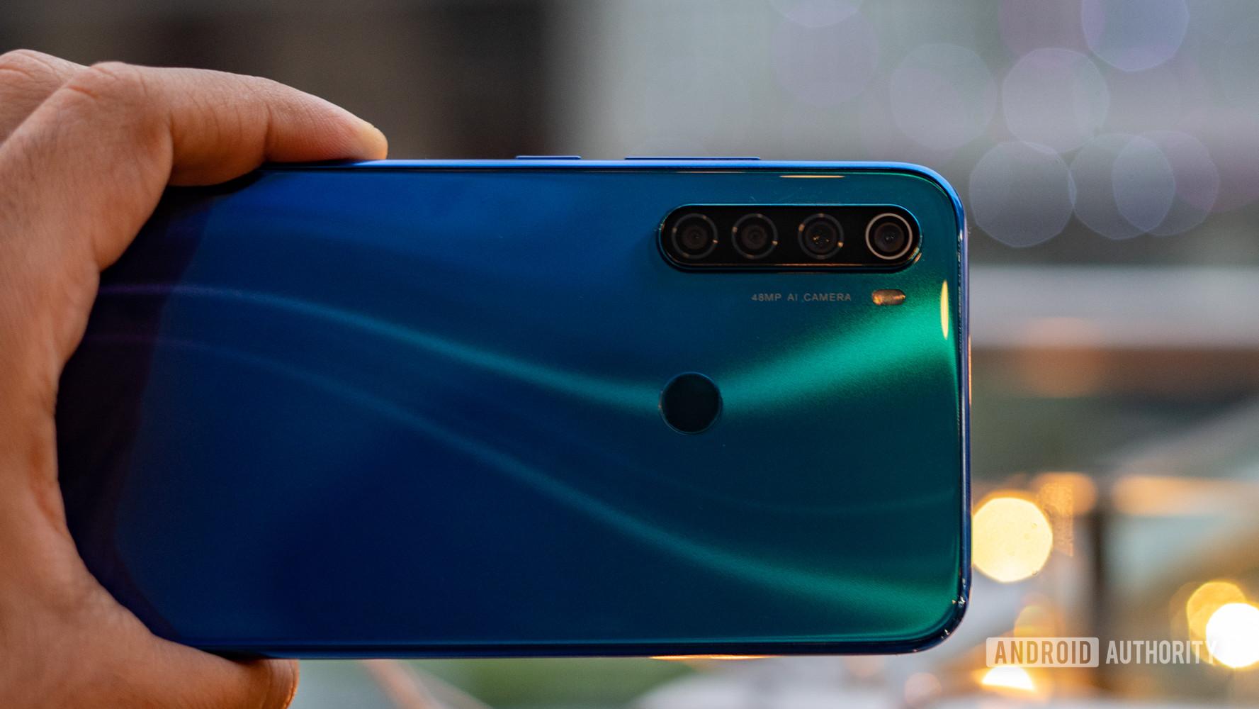 Redmi Note 8 rear gradient and camera module
