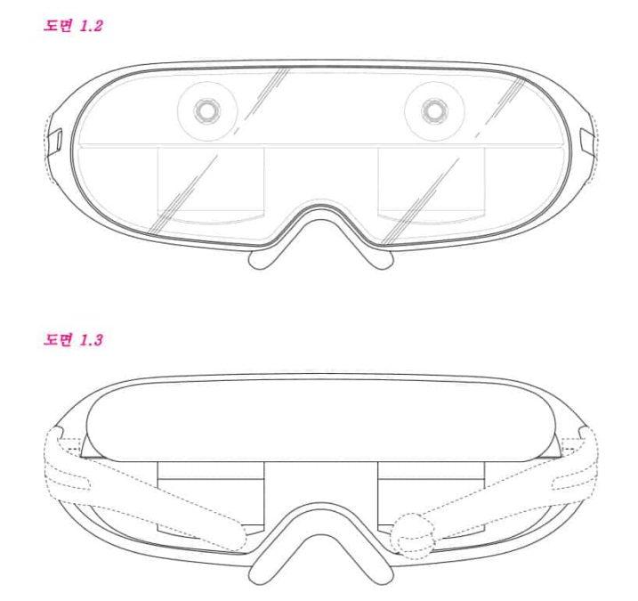 Samsung ar glasses patent 2