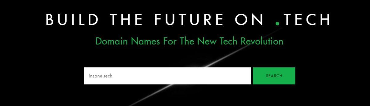 Tech Domain Name Search
