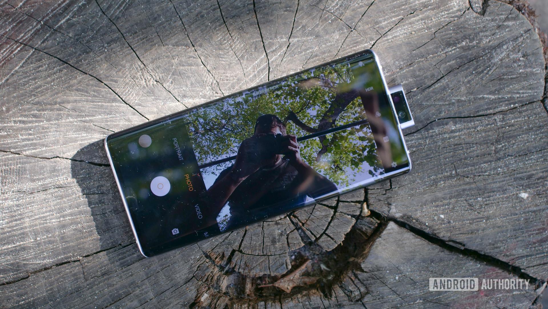 Vivo nex 3 5g selfie camera pop up 2