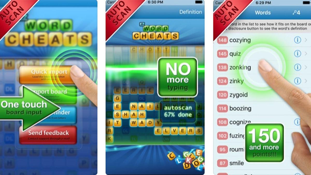 Captura de pantalla de Words with EZ Cheat App Store