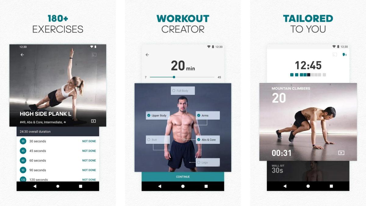 adidas Training screenshot 2020