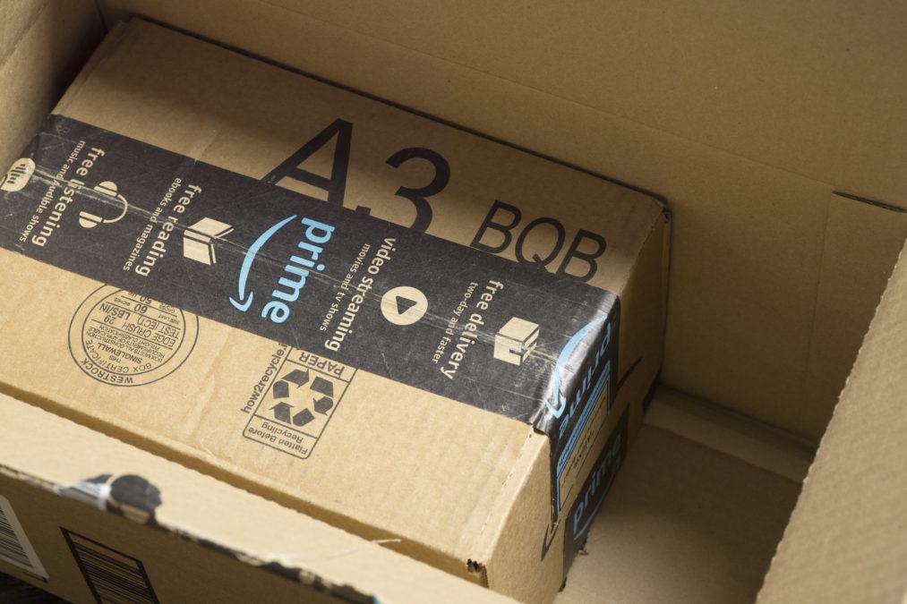 amazon box amazon prime parcel