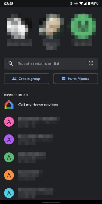 google duo dark mode 2