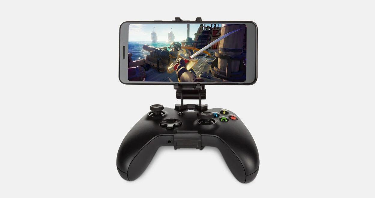 moga microsoft xbox wireless controller mobile gaming clip
