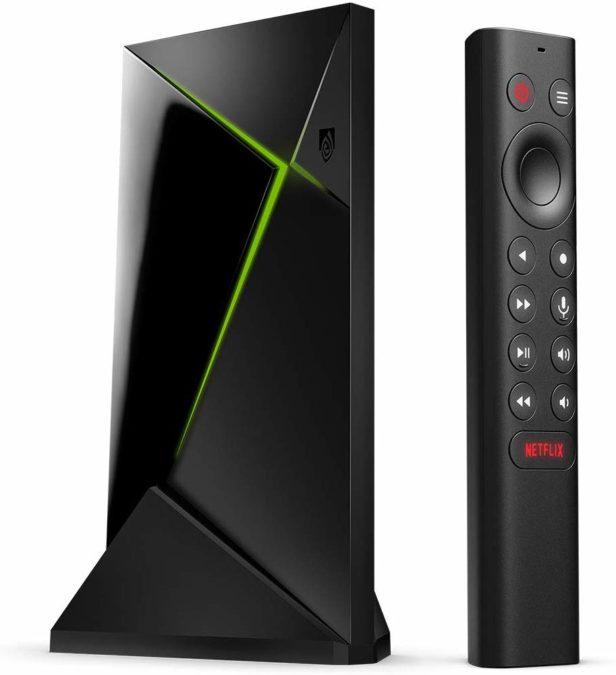 new nvidia shield tv pro 4k streaming box with amazon alexa