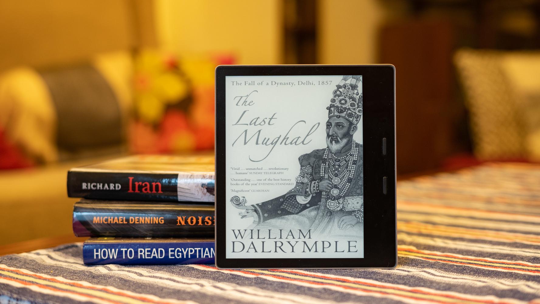 Amazon Kindle Oasis profile shot - The best e-readers
