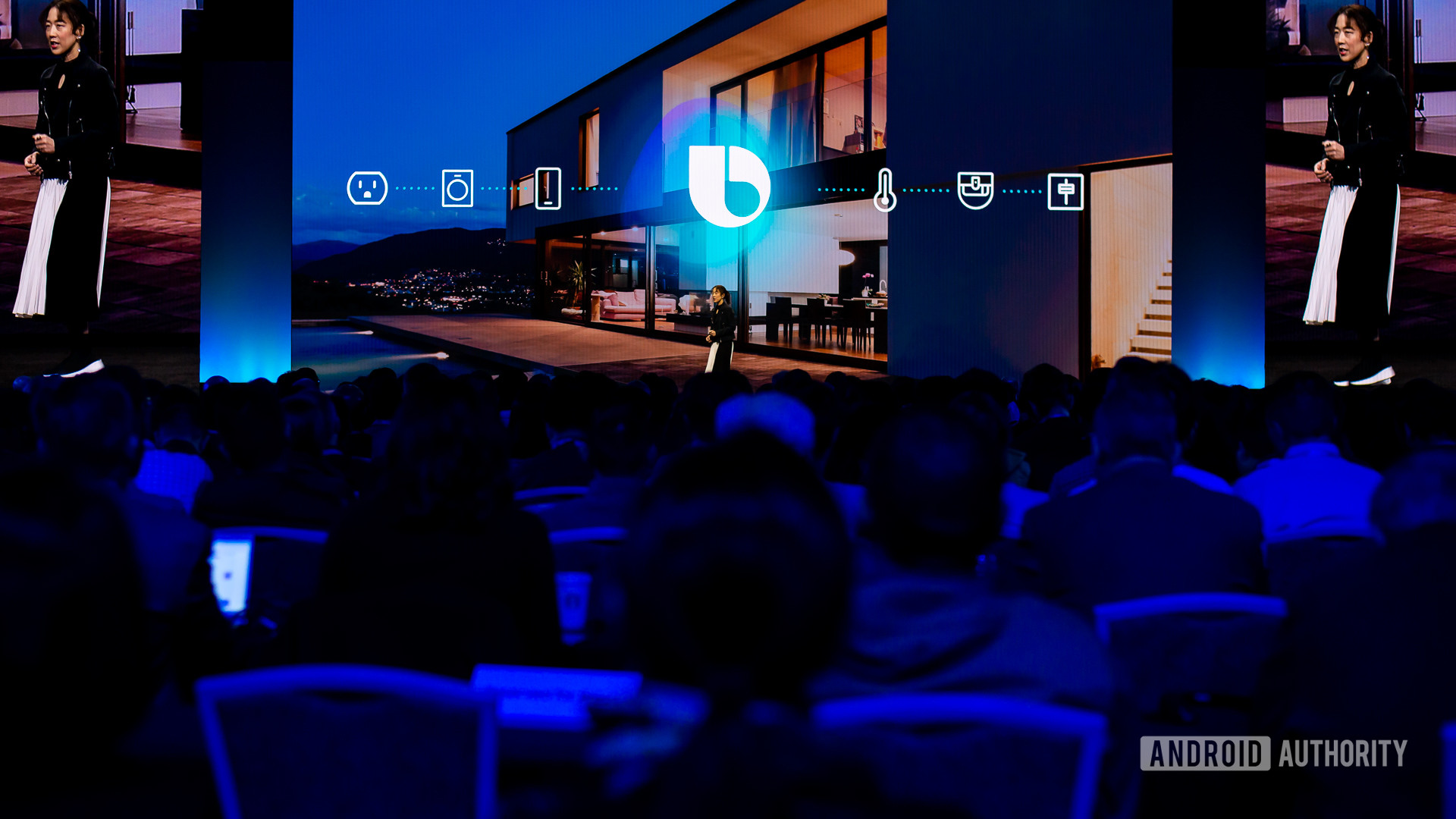 Bixby logo at Samsung Developer Conference 2019