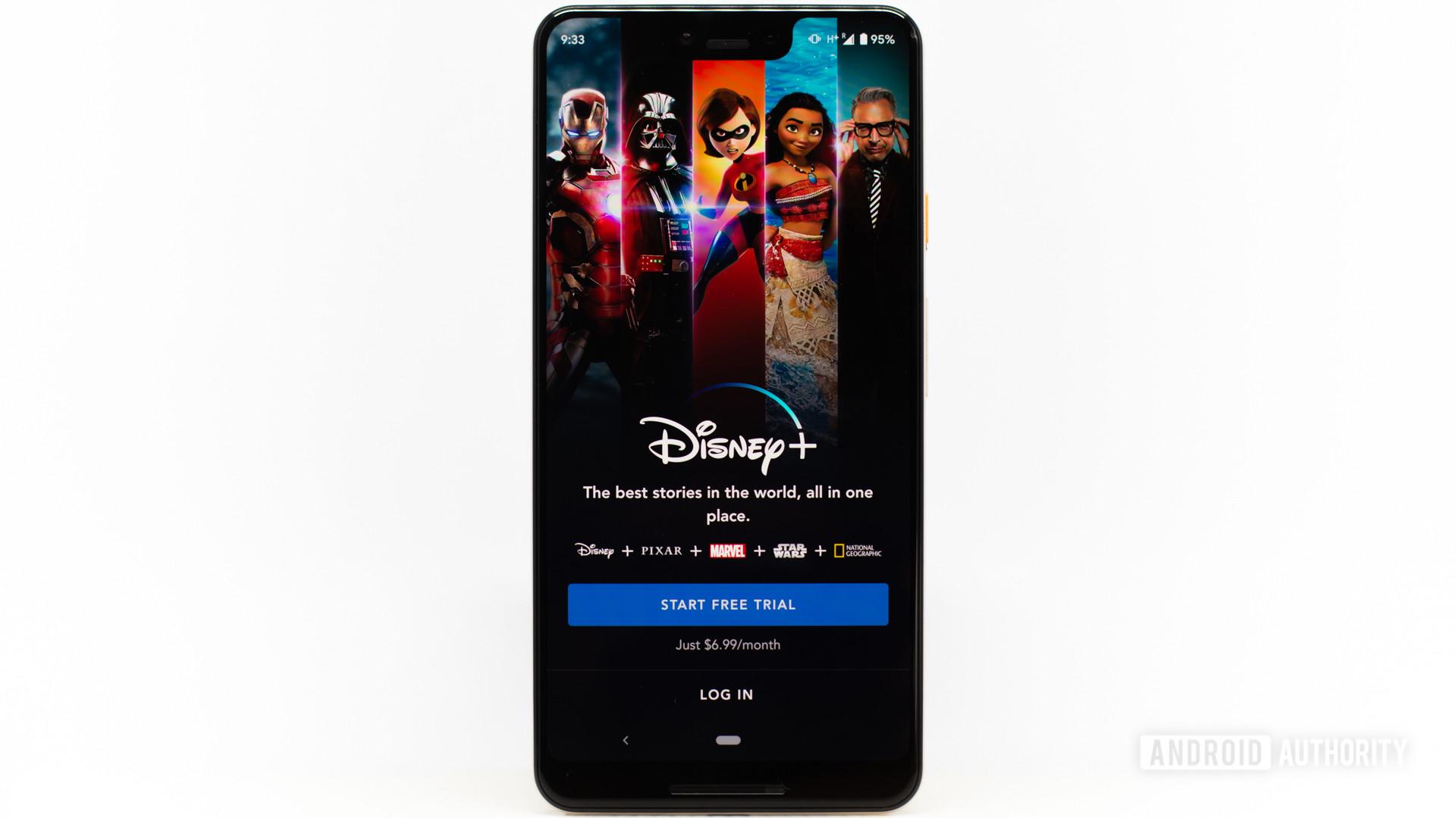 Disney Plus main screen 3