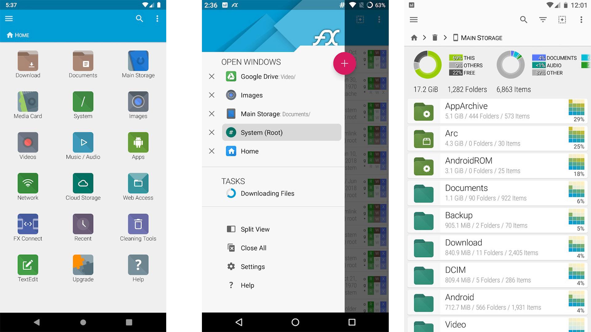 FX File Explorer screenshot 2020