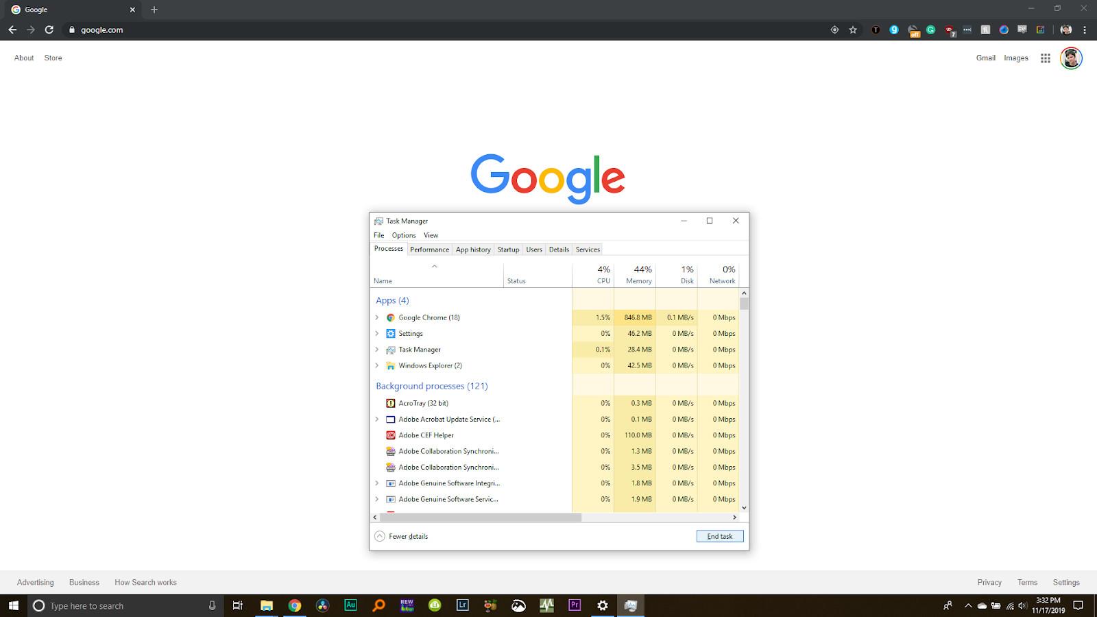 Google Chrome Data Usage 1