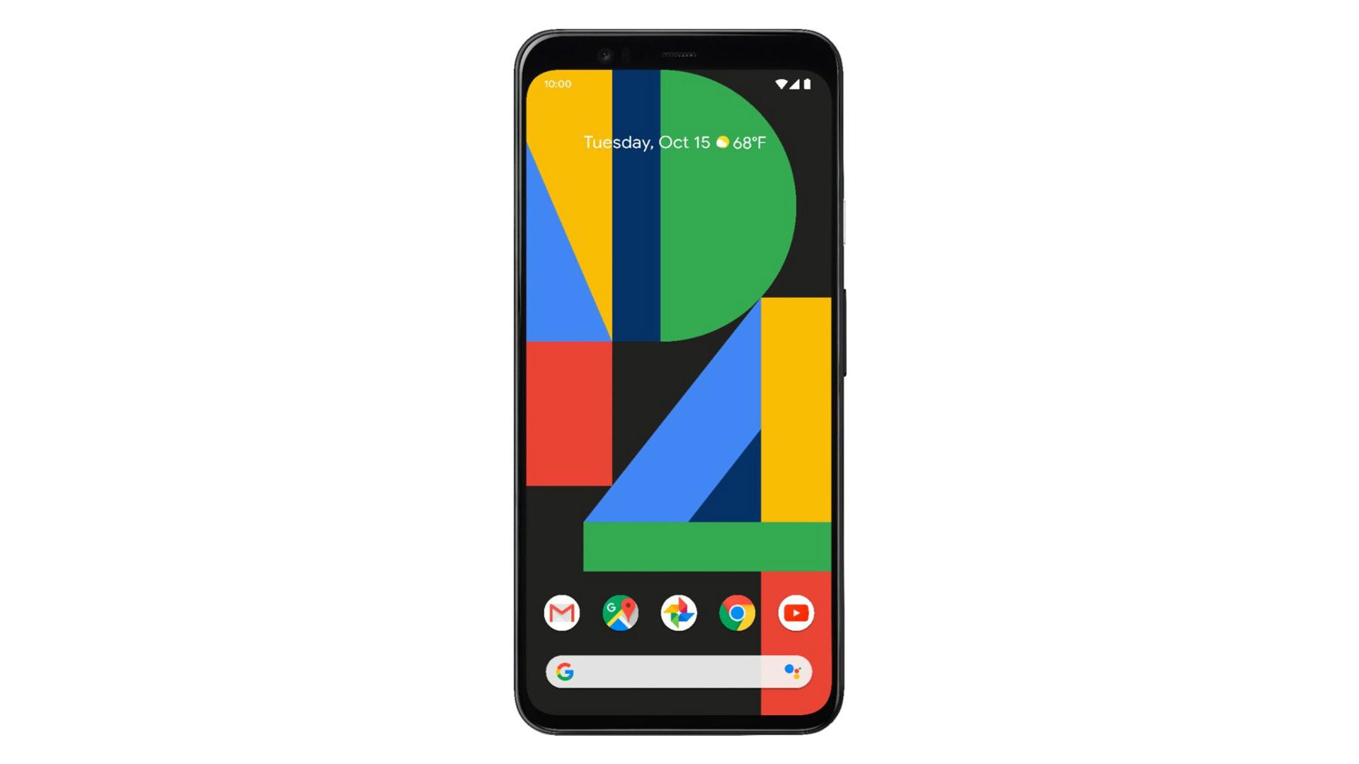 Google Pixel 4 XL press render