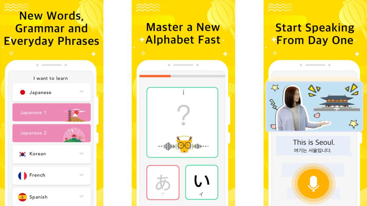 LingoDeer screenshot 2020
