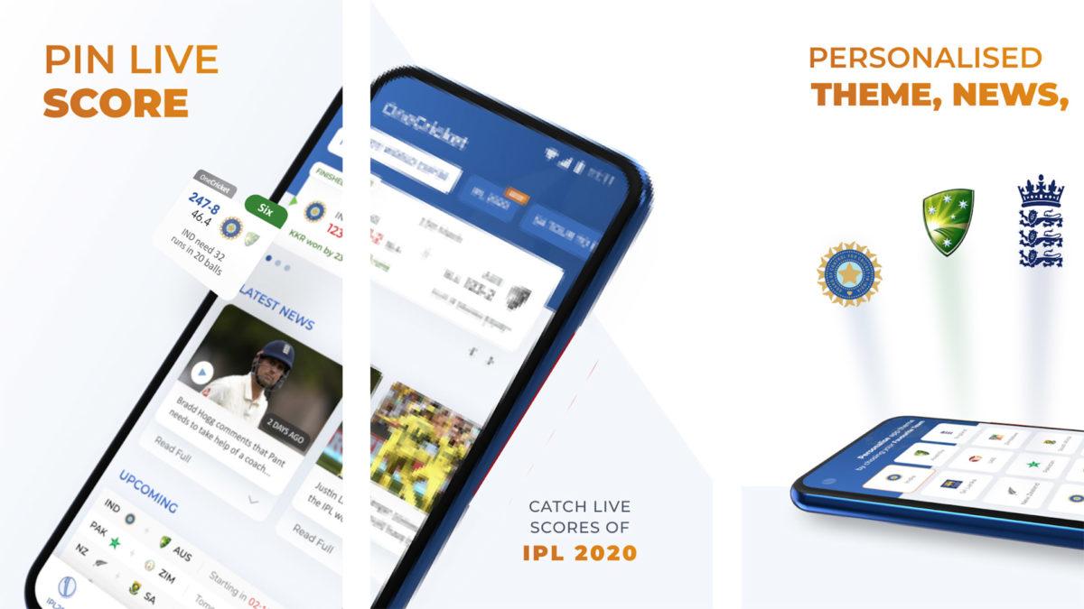 OneCricket screenshot 2020