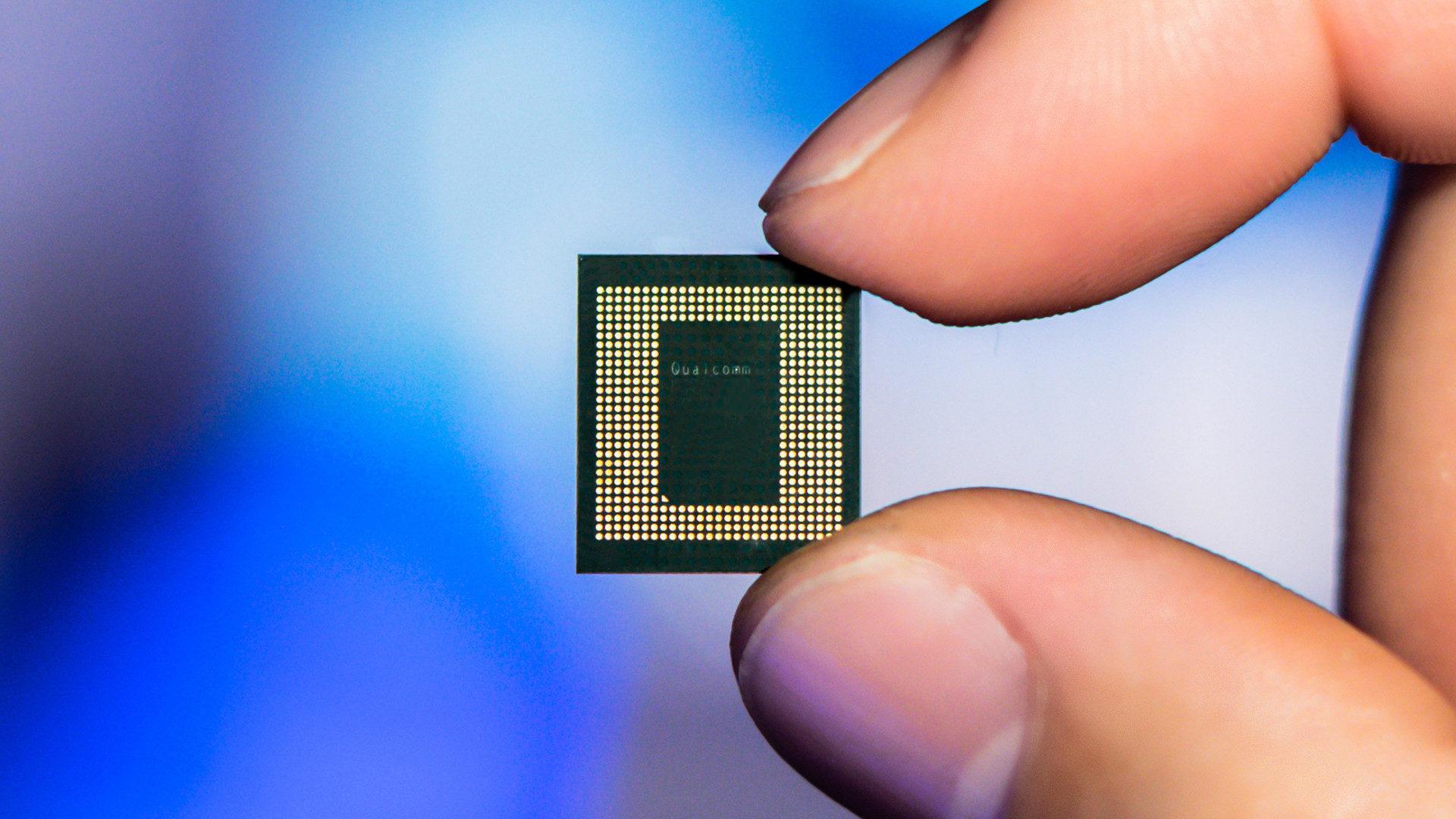 Qualcomm Snapdragon 865 5G Mobile Platform Chip Front