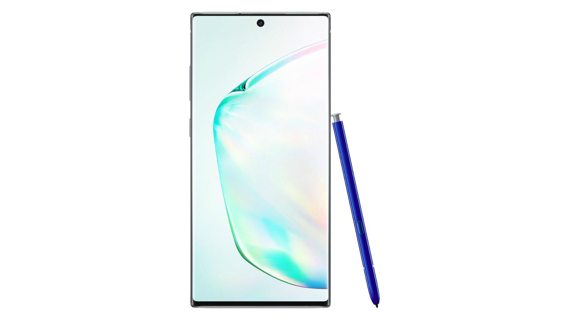 Samsung Galaxy Note 10 Plus press render