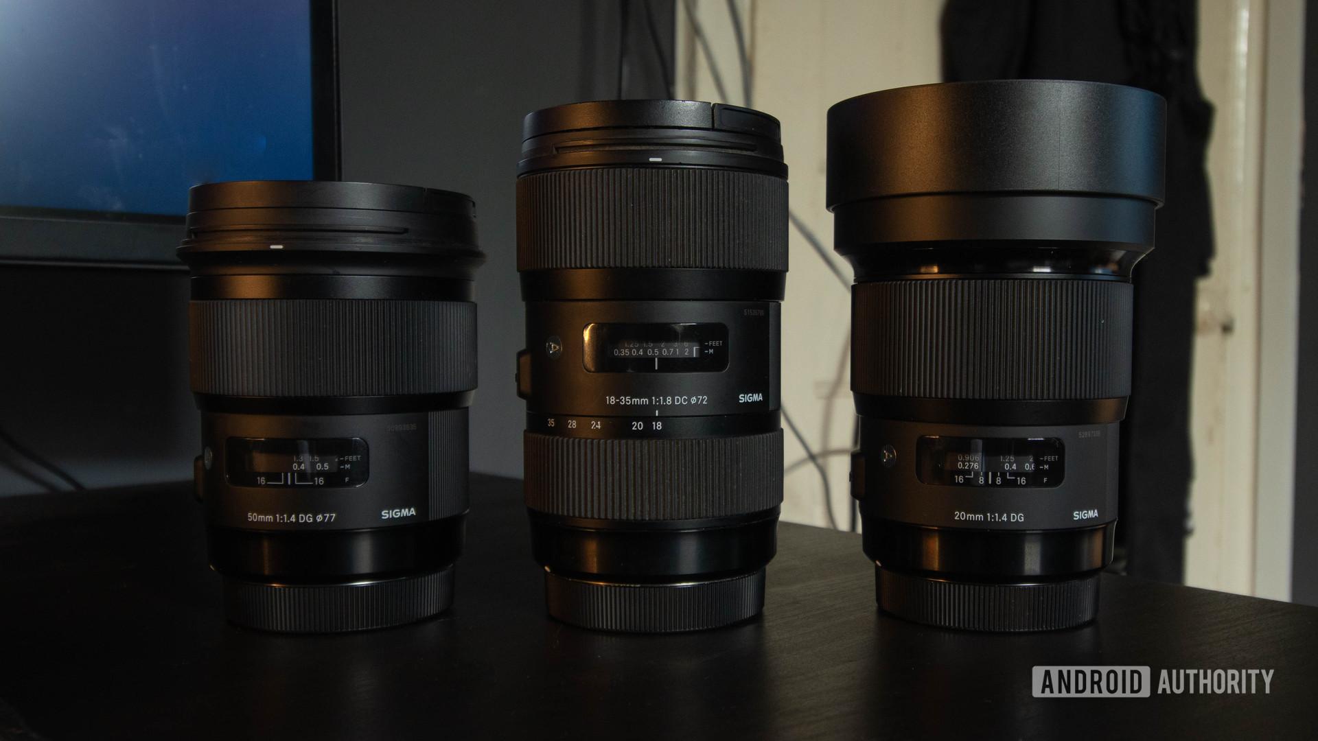 Sigma ART lens product shot