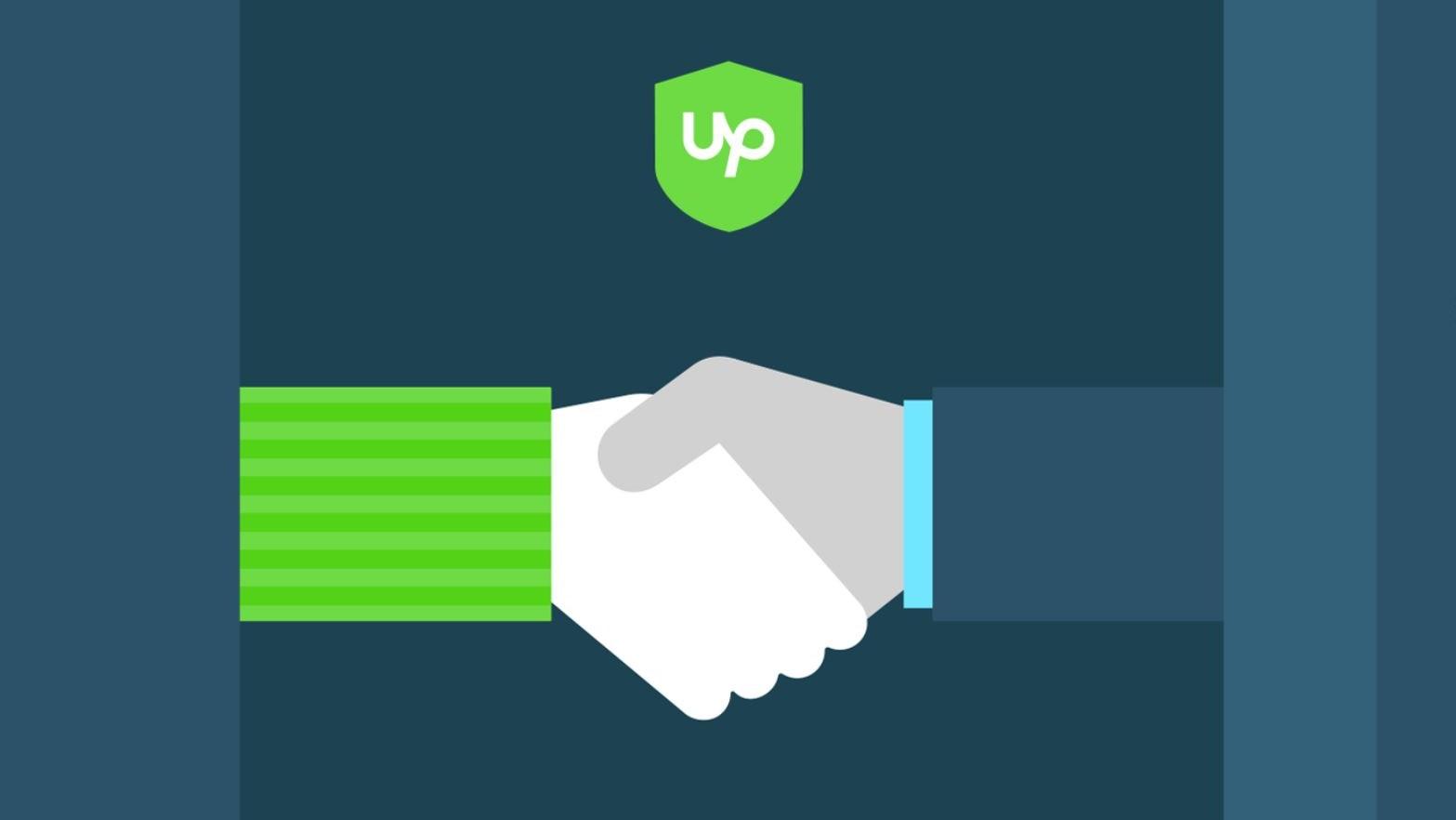 Upwork handshake