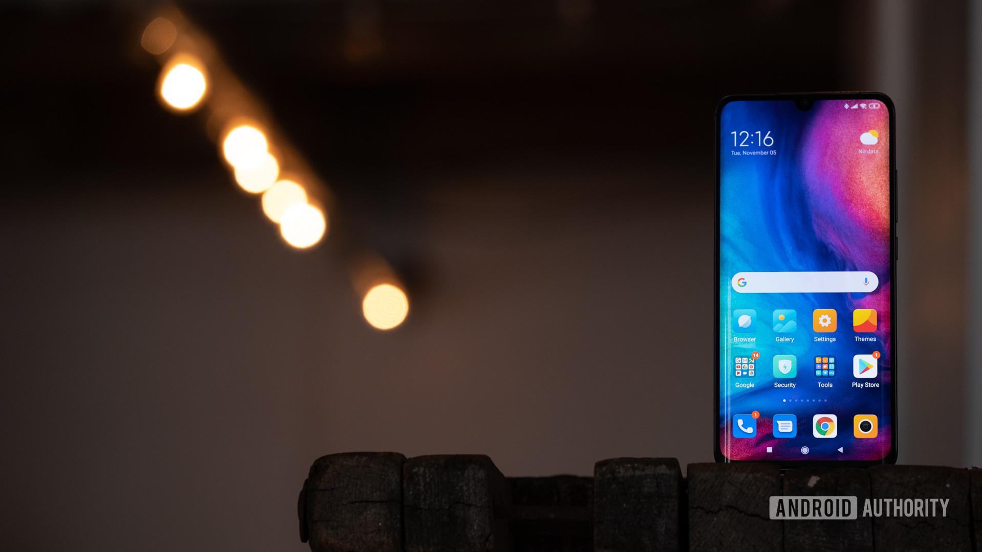 Xiaomi Mi Note 10 screen