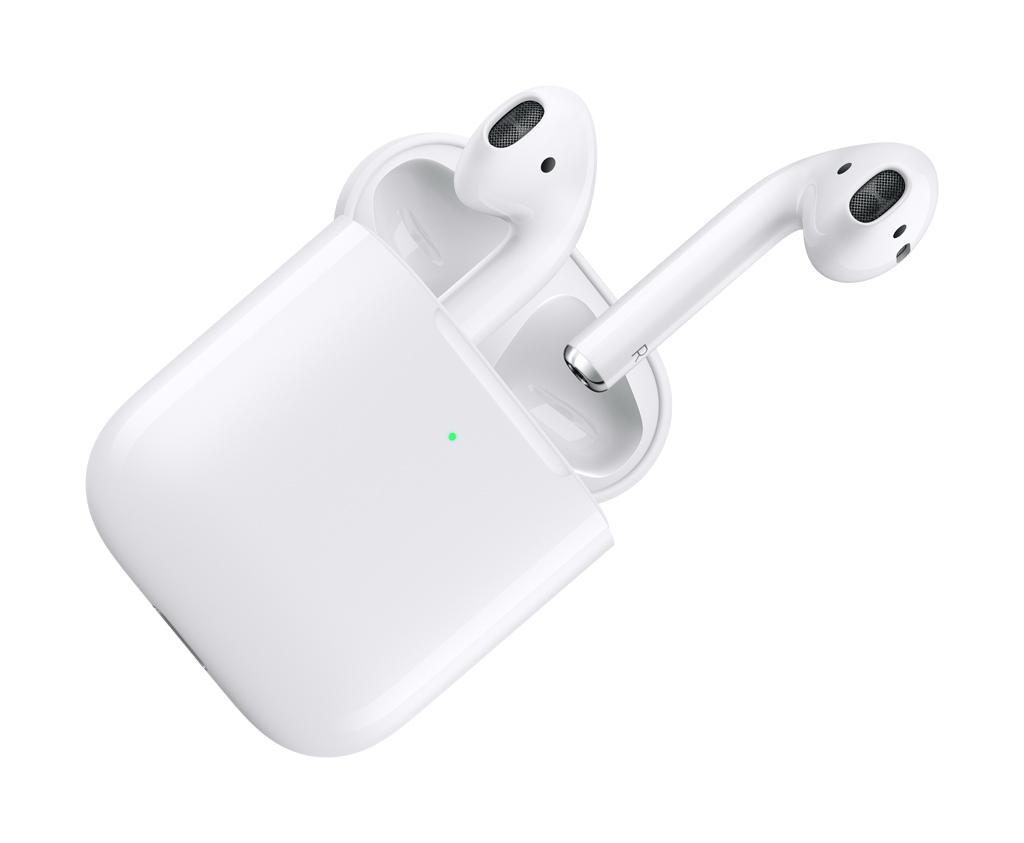 airpods apple avec étui de chargement sans fil