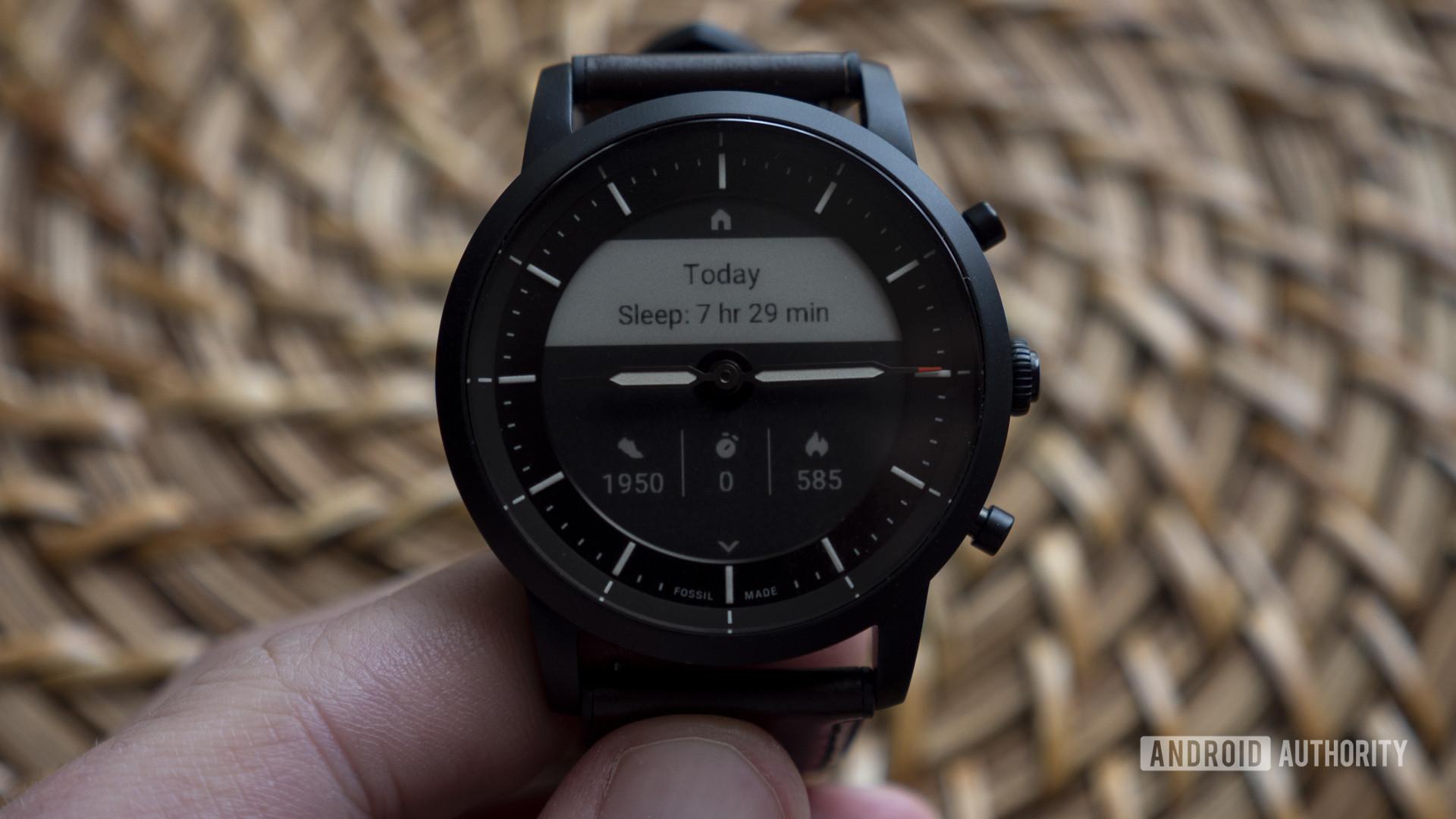 fossil hybrid hr review watch face collider hr activity dashboard