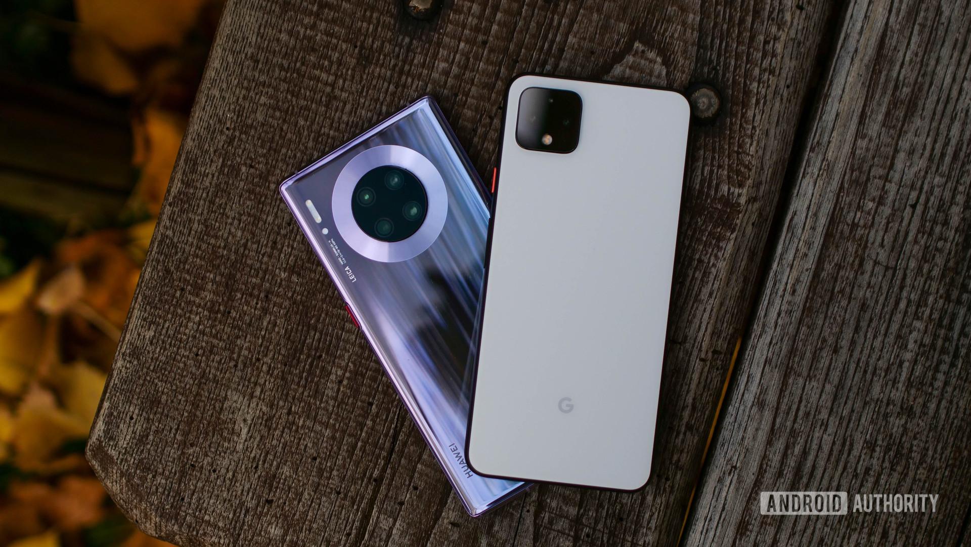 google pixel 4 xl huawei mate 30 pro 3