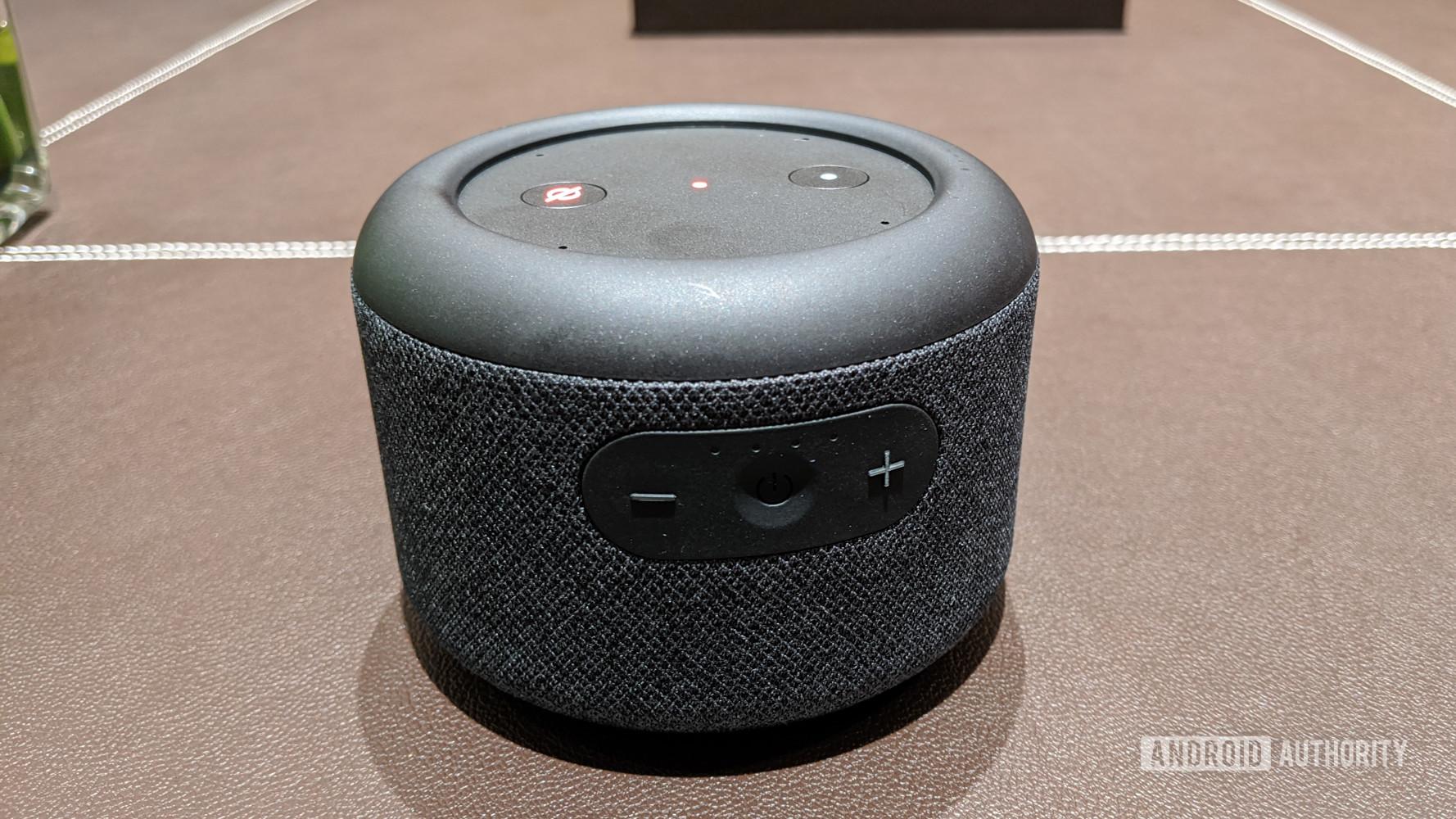 Amazon Echo Input Portable front