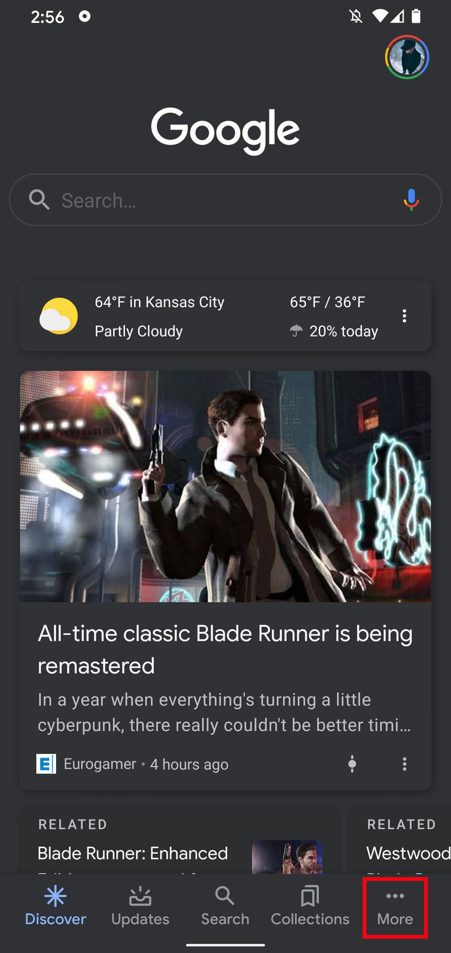 Google Assistant dark mode 1
