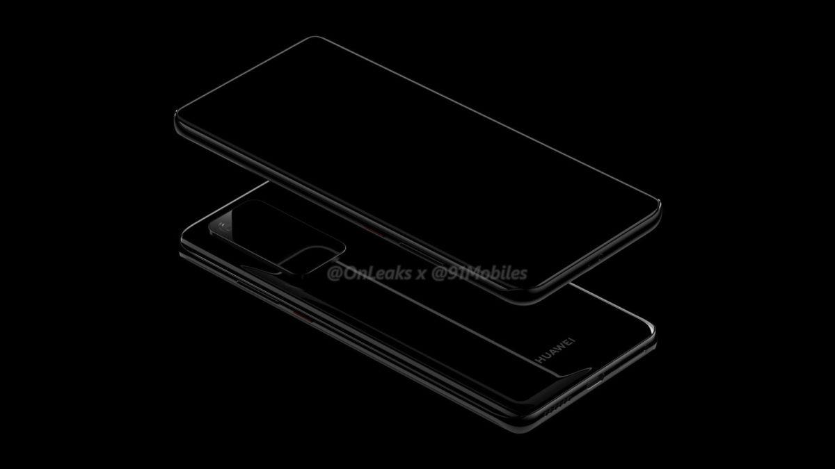 Huawei P40 Pro REnders OnLeaks 2