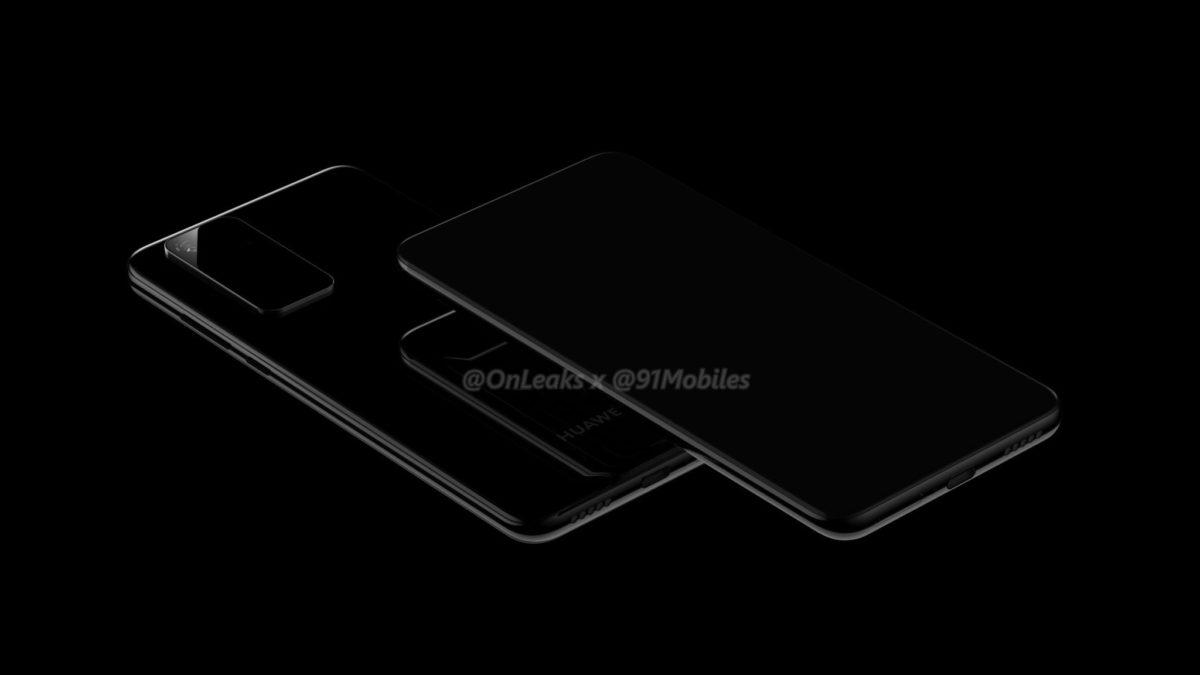 Huawei P40 REnders Onleaks 2