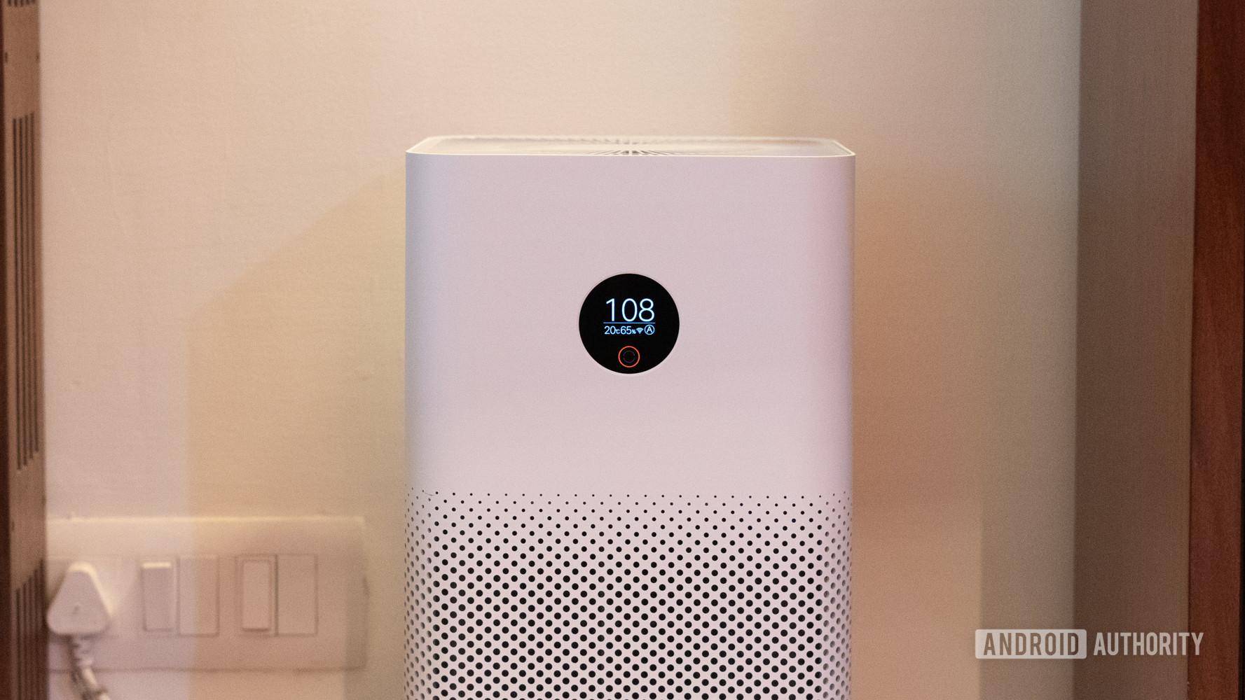 Mi Air Purifier 3 front display