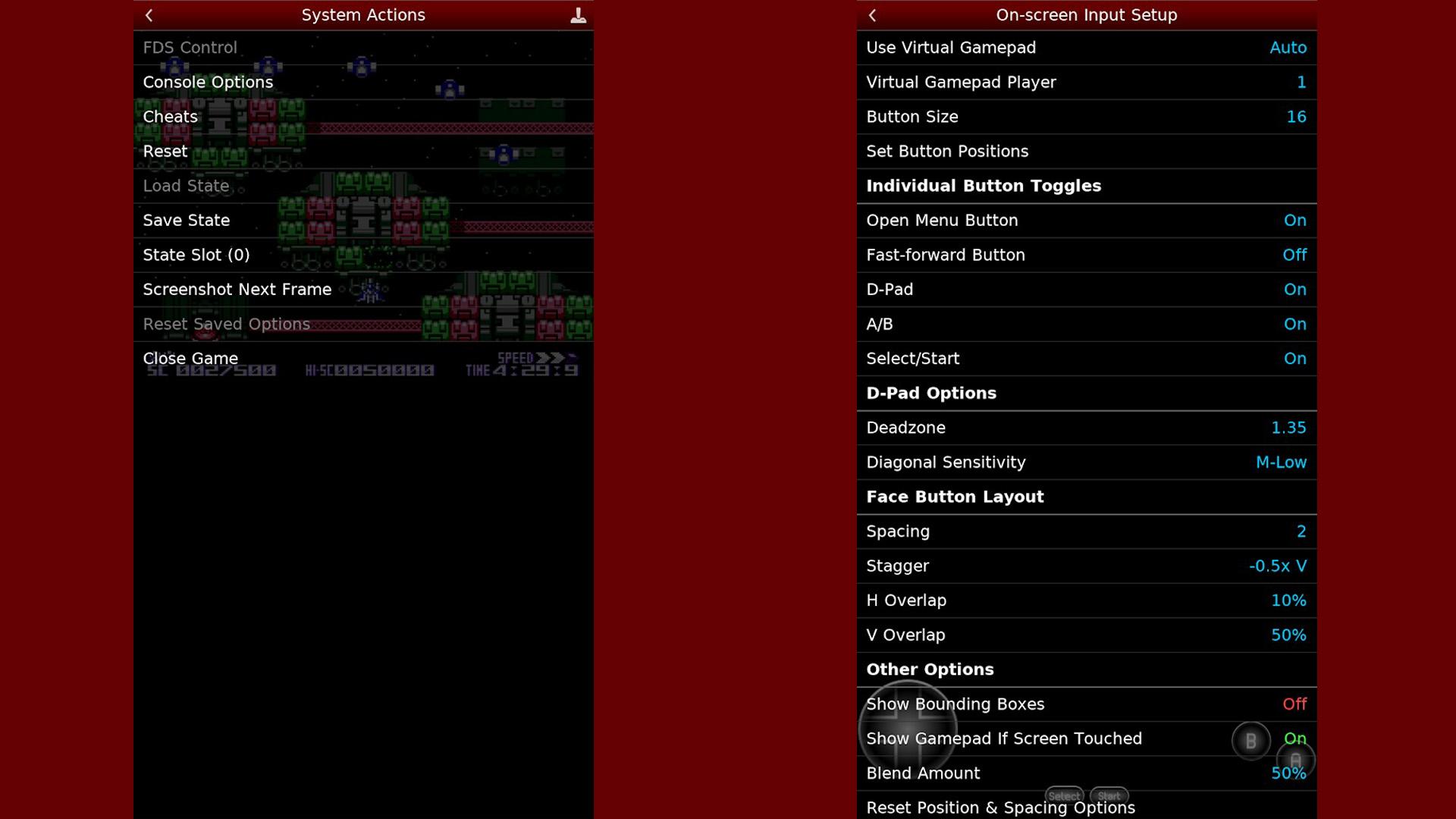 NESemu screenshot