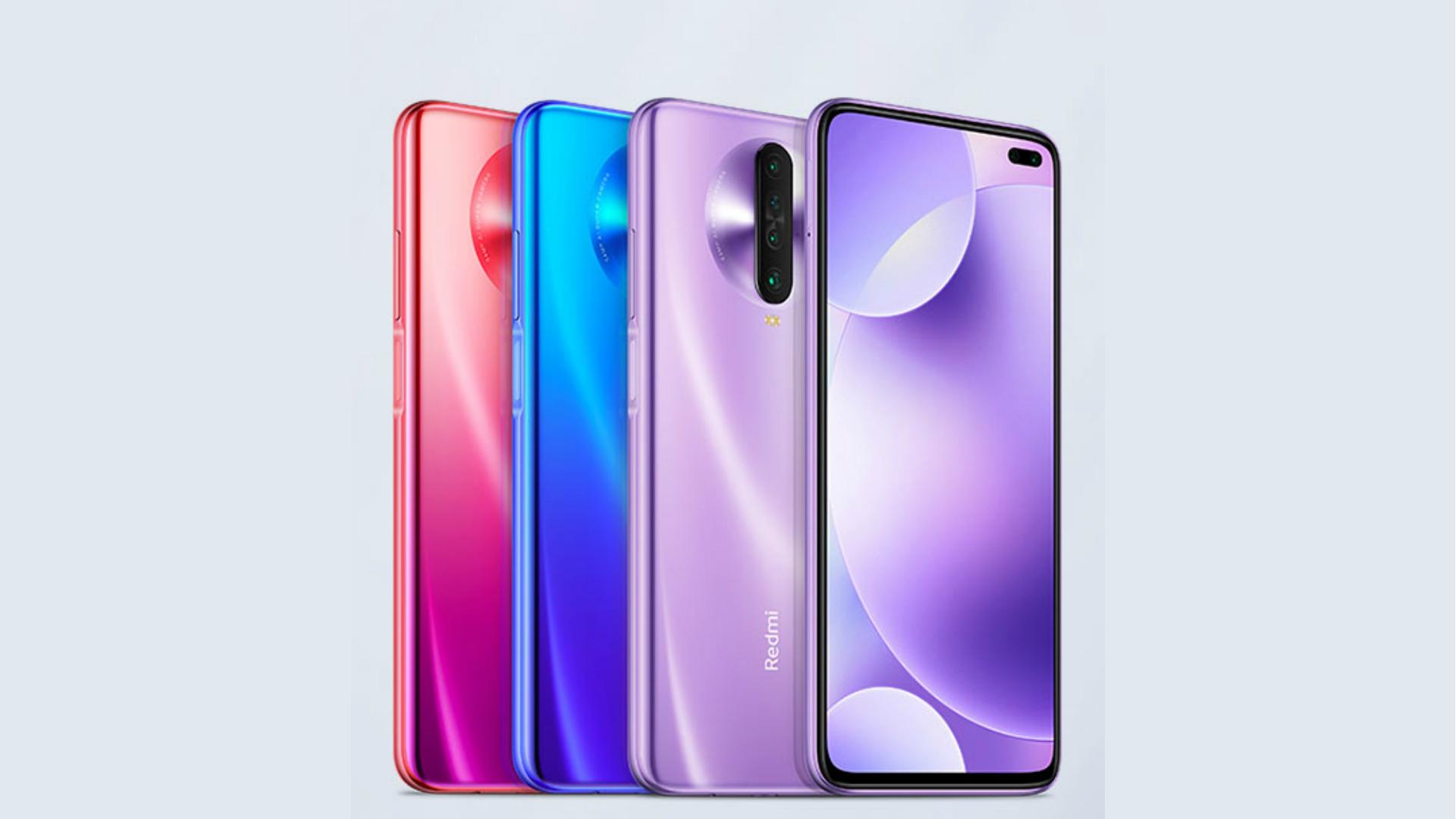 Redmi K30 4G colors