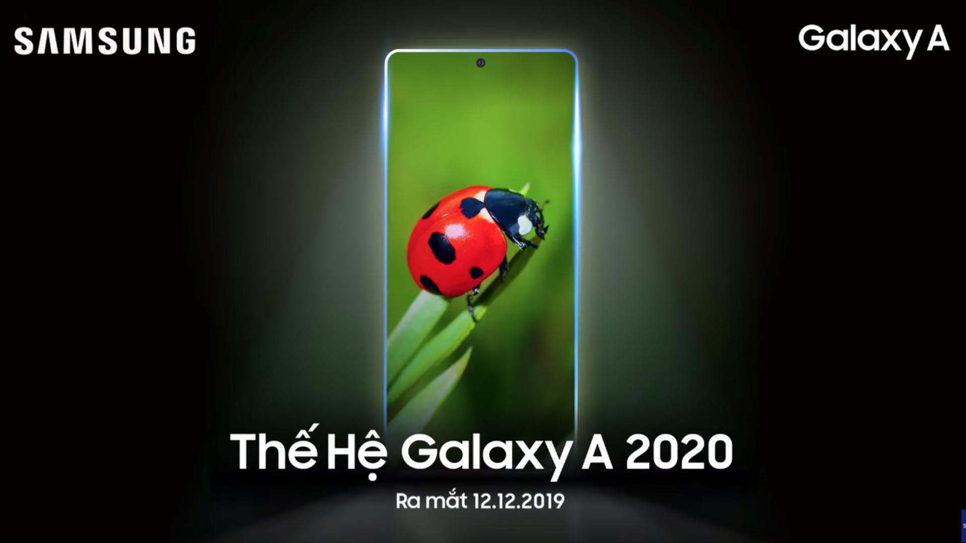 Samsung Galaxy A 2020 series teaser