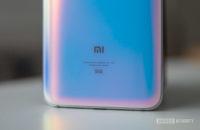 Xiaomi Mi 9 Pro 5G logo closeup