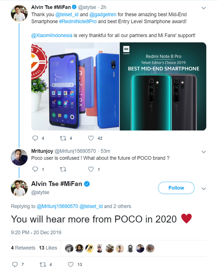 Expect to see more Pocophone news in 2020. Does that mean a Poco F2 is coming?