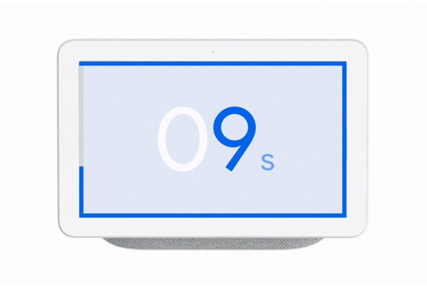 google nest hub ultrasound ui