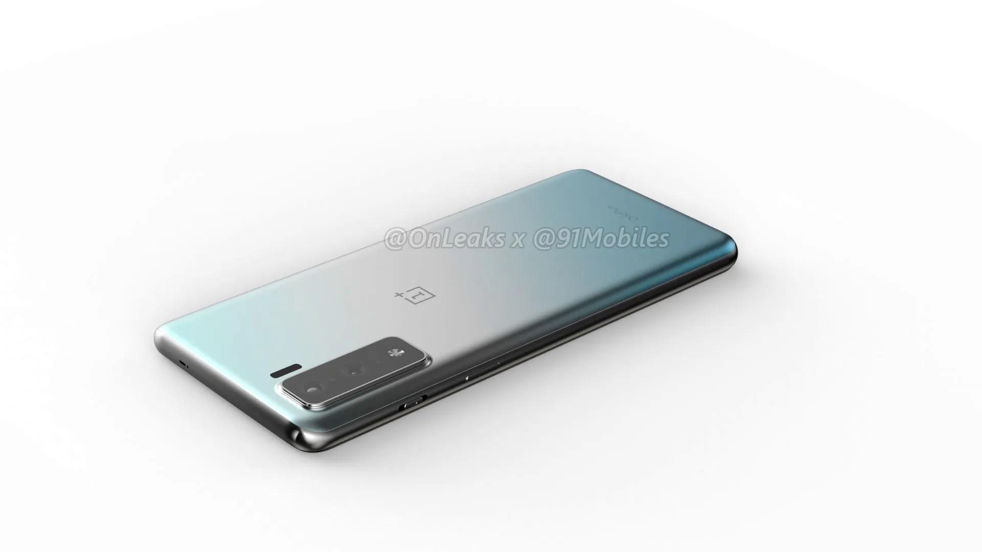 The apparent OnePlus 8 Lite.