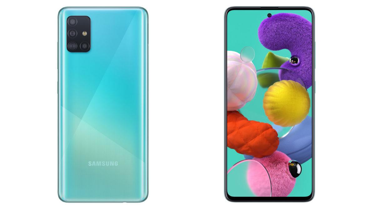 best phones under 30,000 -- the Samsung Galaxy A51