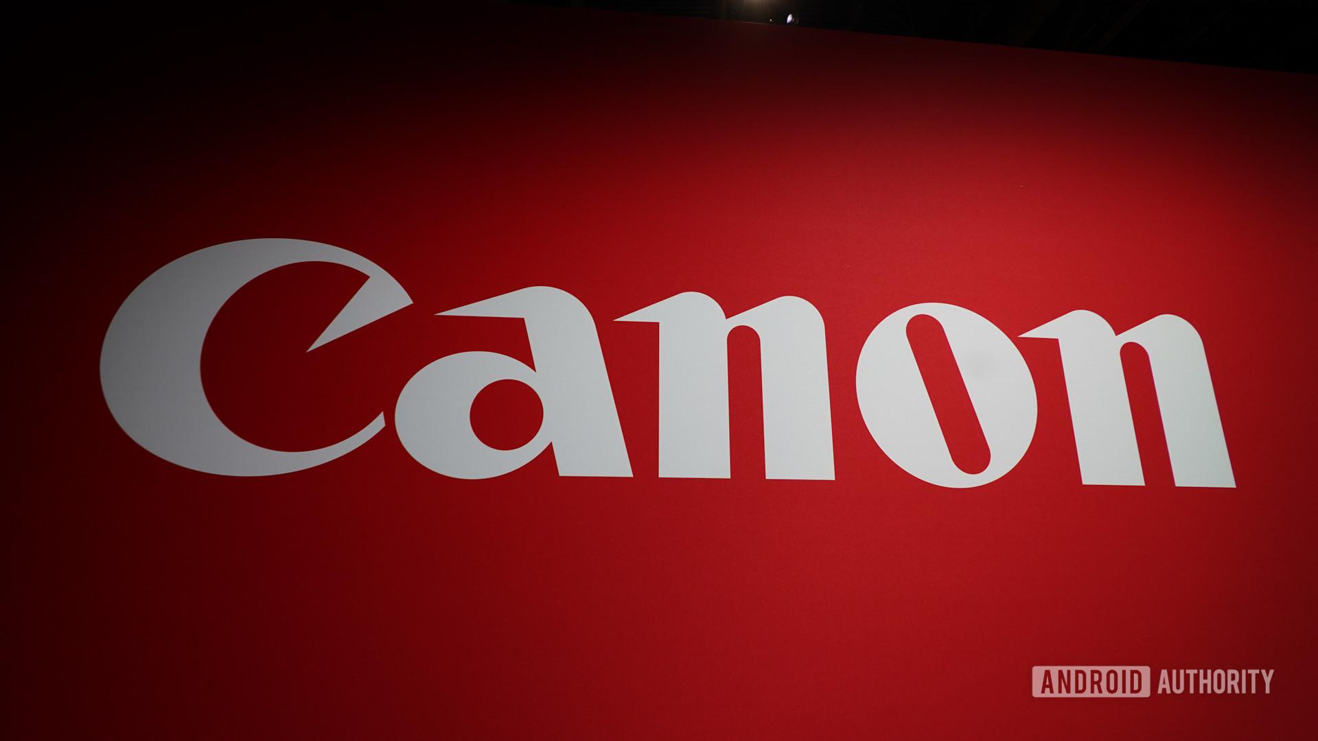 Canon Logo CES 2020